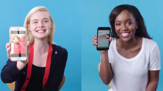 CNE Video | Elle Fanning & Aja Naomi King Show Us the Last Thing on Their Phones