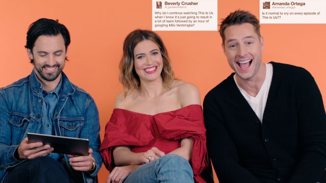 "CNE Video | The Cast of ""This Is Us"" Gives Advice to Strangers on the Internet"