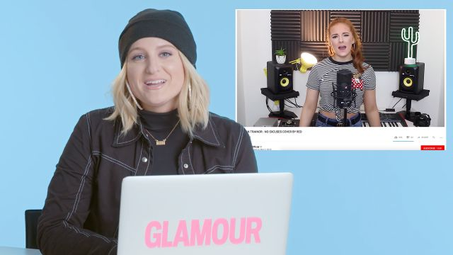 CNE Video | Meghan Trainor Watches Fan Covers On YouTube