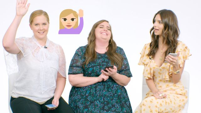 CNE Video | Amy Schumer, Aidy Bryant & Emily Ratajkowski Show Us the Last Thing on Their Phones
