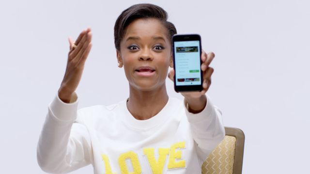 CNE Video | Black Panther's Letitia Wright Shows Us the Last Thing on Her Phone