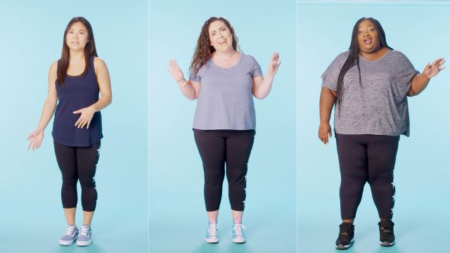 CNE Video | Women Sizes 0 Through 28 Try on the Same Leggings