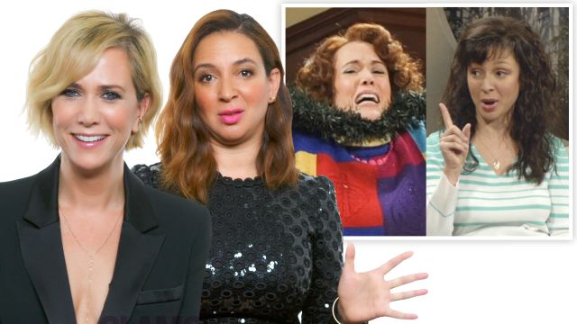 CNE Video | Kristen Wiig Maya Rudolph & The Women of SNL Reveal Their Favorite Characters
