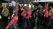 Glamour Flash Mob Takes over Bryant Park at Fall 2010 New York Fashion Week