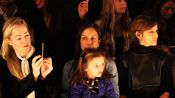Glamour Editor in Chief Cindi Leive Attends Fashion Designer Phillip Lim's Show