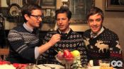 Behind the Scenes with The Lonely Island at Their GQ Photoshoot