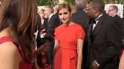 Golden Globes Stars Talk Fashion, Cats, and George Clooney on the Red Carpet