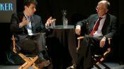 Seymour M. Hersh with David Remnick