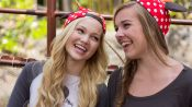Olivia Holt and Her Bestie Gracie Benward Have an Awesome Disneyland