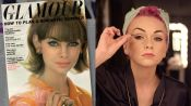 Learn to Create the Perfect Retro Cat-Eye from Glamour's 1965 Cover