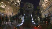 Alien Cop Car Invades San Diego Comic-Con 2014