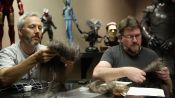 How to Fabricate Alien Fur for a Giant Creature