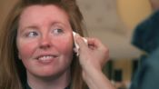 A Makeup Routine to Conceal Redness and Highlight Eyes