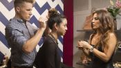 How to Style Thick Hair into a Messy, Cool Top Knot
