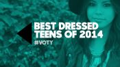 The Top 10 Best Dressed Teens of 2014