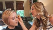 A Chic Holiday Makeup Look You'll Love