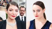 Lorde's 2015 Golden Globes Hair and Makeup Tutorial