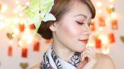Makeup Tutorial: Simple Lunar New Year Makeup