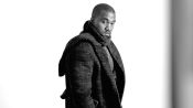 In the GQ Style Studio with Kanye West
