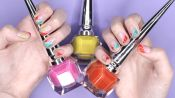 Rainbow Nail Art featuring Sophy Robson