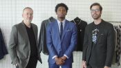 Dressing Justise Winslow:  How Do You Style and Tailor a Duke-Blue Suit?