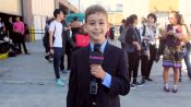 Glamour's Fourth Grade New York Fashion Week Correspondent