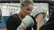 Watch Ronda Rousey In Action At The Gym