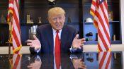 Donald Trump Weighs in on Marijuana, Hillary Clinton, and Man Buns