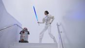 Watch 24 Hours of Love, Lightsabers, and Star Wars in New York City