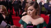 Celebs Do Their Favorite Movie Impressions on the Golden Globes Red Carpet