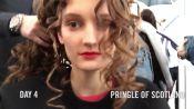 Julia Fleming Takes Us Behind the Scenes at London Fashion Week