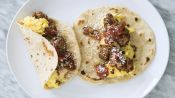 How to Make Sausage and Egg Breakfast Tacos