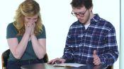 Guys Read Their Girlfriends' Old Grade School Diaries: Megan & Nathan