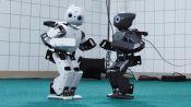 Robot Running Man Challenge
