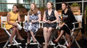 Chelsea Clinton, Lena Dunham, and America Ferrera at the DNC