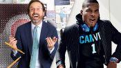 Cam Newton and Menswear Legend Sid Mashburn Square Off in the Fashion Super Bowl