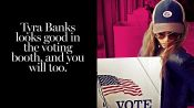 12 Celebrities Who Voted in Style