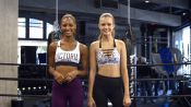 Victoria's Secret Angel Workout: 4-Move Total-Body Burn