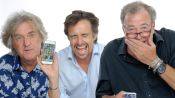 Jeremy Clarkson, Richard Hammond & James May Show Us the Last Thing on Their Phones