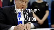 Donald Trump vs. Education