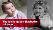 Princess Charlotte: Queen Elizabeth's Mini-Me