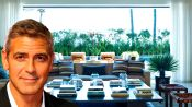 George Clooney, Jennifer Aniston, and Ellen DeGeneres Invite You Into Their Living Rooms