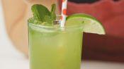 Matcha-Mint Sparkler