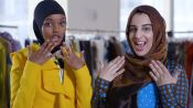 Supermodel Halima Aden Shows Young Muslim Girls How to Model