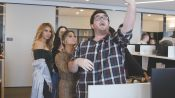 Fifth Harmony Surprises a Superfan at Work