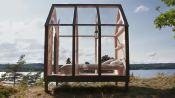 Sweden Is Putting Stressed People In a Glass Cabin—for Science