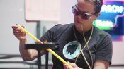 Watch Neon Artist Shawna Peterson Make Bright, Buzzing Art