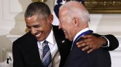 Joe Biden and Barack Obama Are Friendship Goals