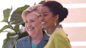 When Yara Shahidi Met Hillary Clinton