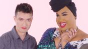 PatrickStarrr Gives a Makeup Tutorial in Handcuffs